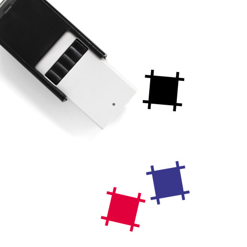 Artboard Self-Inking Rubber Stamp No. 27