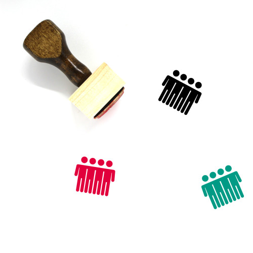 Community Wooden Rubber Stamp No. 62