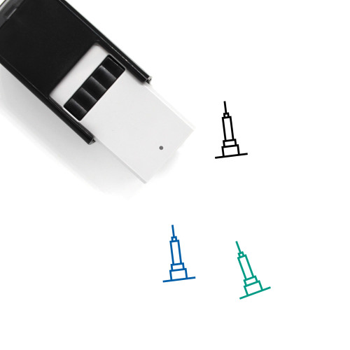 Empire State Building Self-Inking Rubber Stamp No. 9