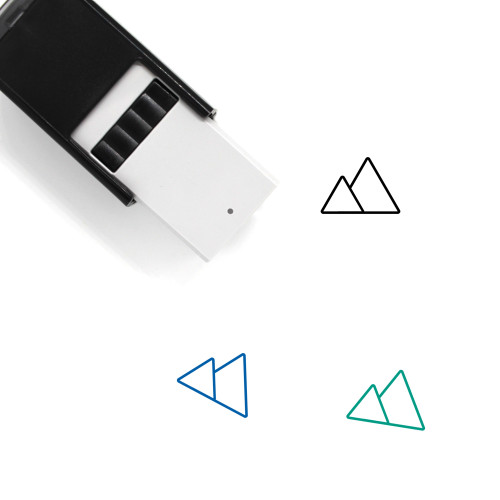 Mountains Self-Inking Rubber Stamp No. 241