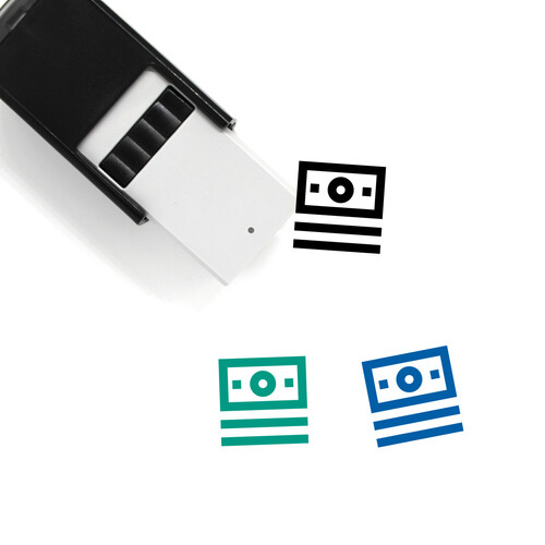 Cash Self-Inking Rubber Stamp No. 106