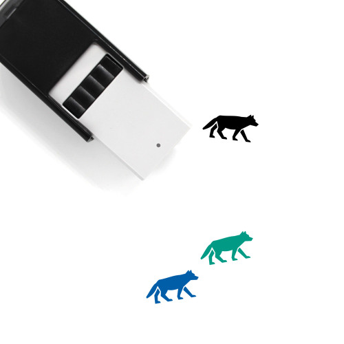 Wolf Self-Inking Rubber Stamp No. 29