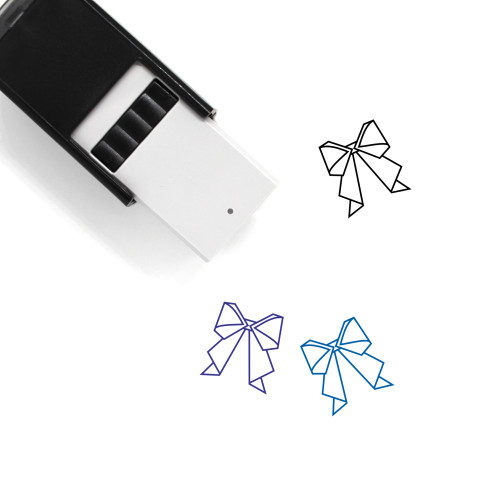 Webbing Self-Inking Rubber Stamp No. 1