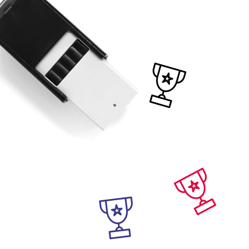 Trophy Self-Inking Rubber Stamp No. 387