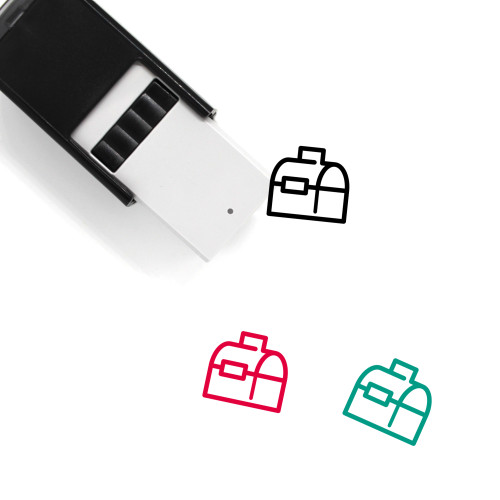 Lunch Box Self-Inking Rubber Stamp No. 7