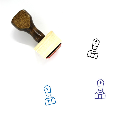 Papal Wooden Rubber Stamp No. 1