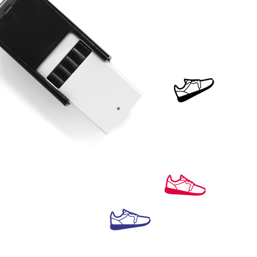 Sneaker Self-Inking Rubber Stamp No. 66