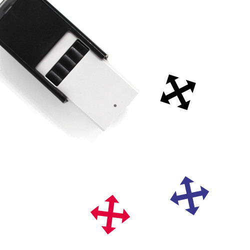 Move Self-Inking Rubber Stamp No. 83