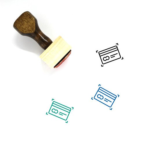 Account Wooden Rubber Stamp No. 111