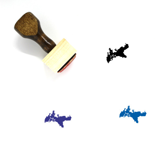 Prussia Wooden Rubber Stamp No. 1