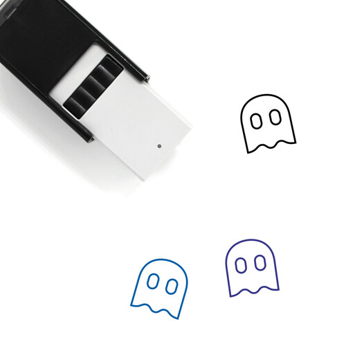 Ghost Self-Inking Rubber Stamp No. 124