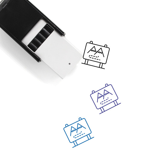 Road Trip Self-Inking Rubber Stamp No. 13