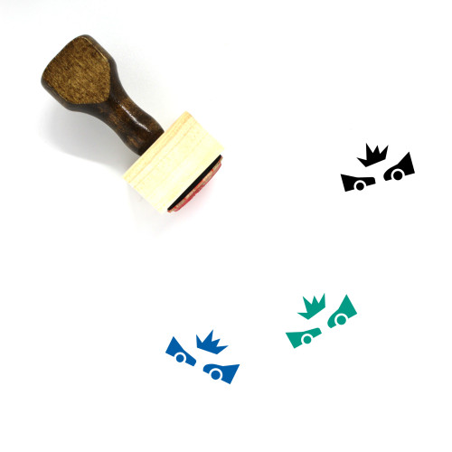 Accident Wooden Rubber Stamp No. 13