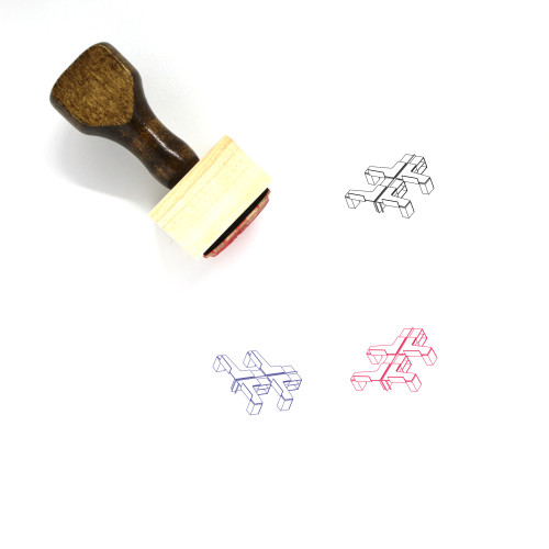 Working Space Wooden Rubber Stamp No. 26