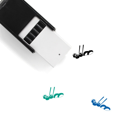 Sushi Self-Inking Rubber Stamp No. 57