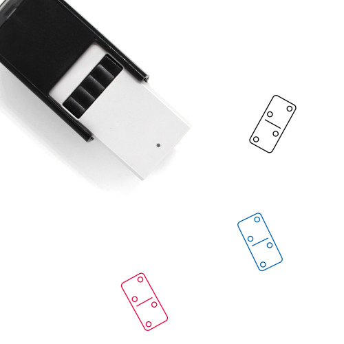 Domino Self-Inking Rubber Stamp No. 127