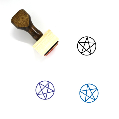 Paganism Wooden Rubber Stamp No. 8