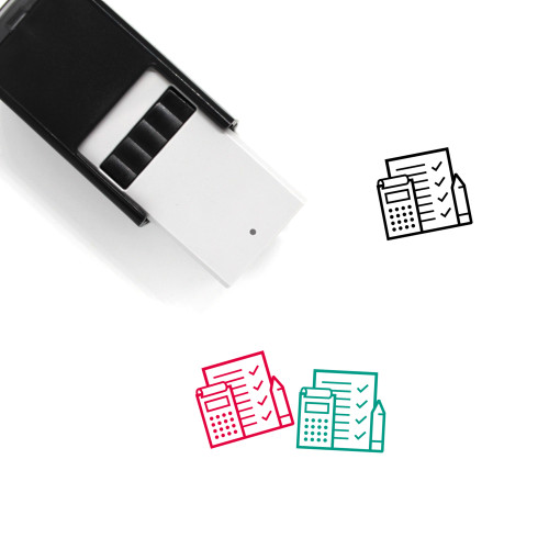 Finances Self-Inking Rubber Stamp No. 16