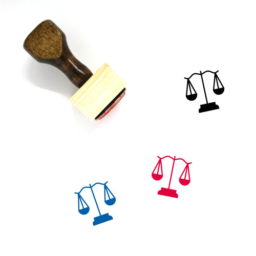 Law Wooden Rubber Stamp No. 220