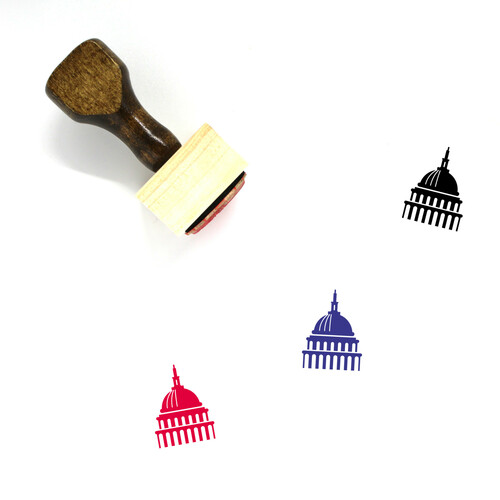 Congress Wooden Rubber Stamp No. 5