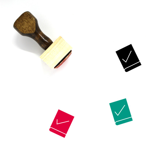 Constitution Wooden Rubber Stamp No. 8