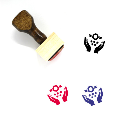 Quality Wooden Rubber Stamp No. 39