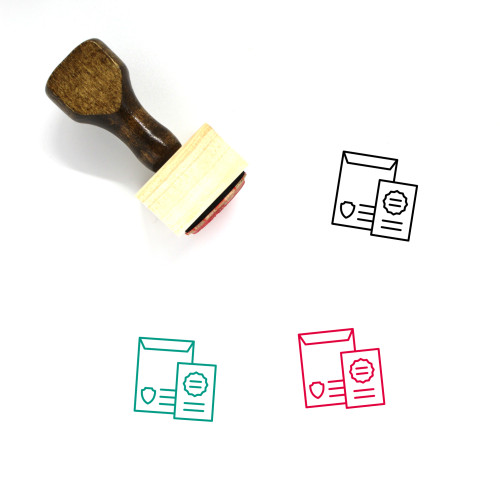 Magistrate Wooden Rubber Stamp No. 1