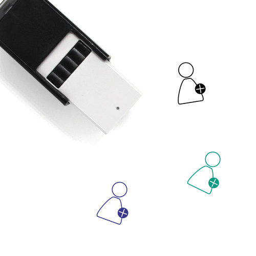 Add User Self-Inking Rubber Stamp No. 48