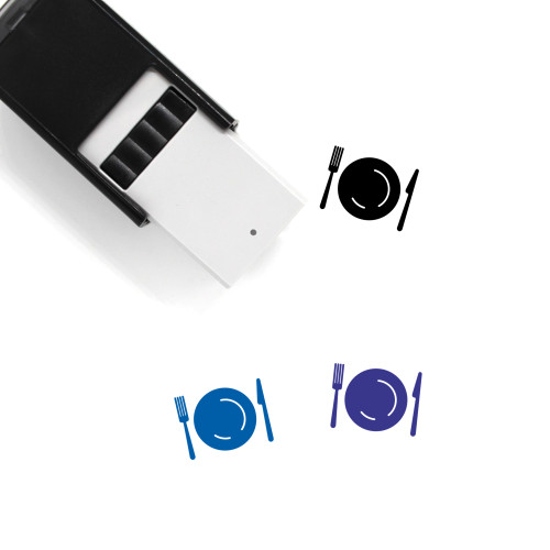 Meal Self-Inking Rubber Stamp No. 23