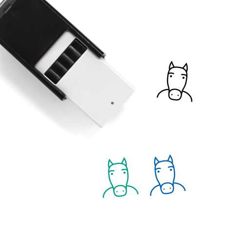 Horse Self-Inking Rubber Stamp No. 107
