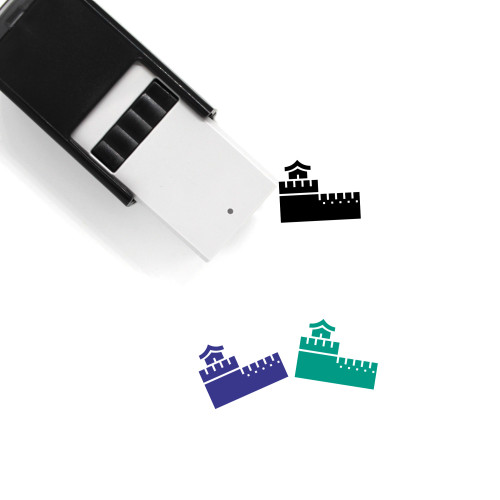 Great Wall Of China Self-Inking Rubber Stamp No. 14