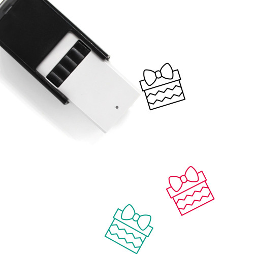 Christmas Present Self-Inking Rubber Stamp No. 23