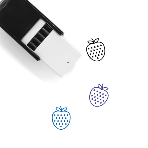 Strawberry Self-Inking Rubber Stamp No. 104
