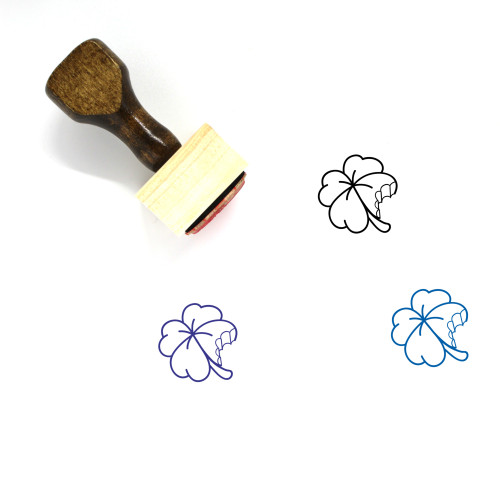 Out Of Luck Wooden Rubber Stamp No. 1