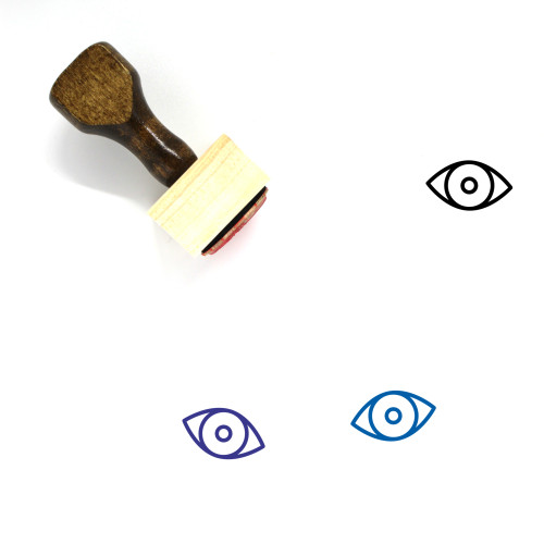 Eye Wooden Rubber Stamp No. 339