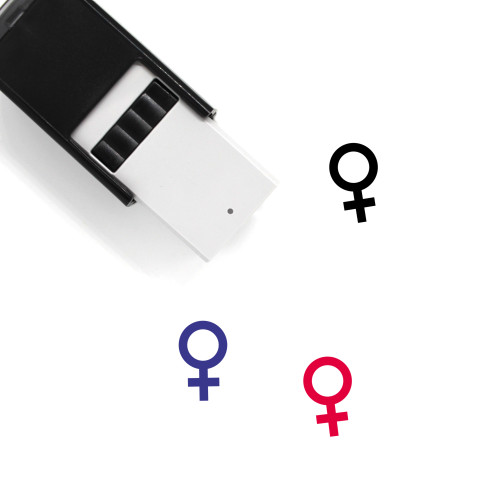 Female Sign Self-Inking Rubber Stamp No. 11
