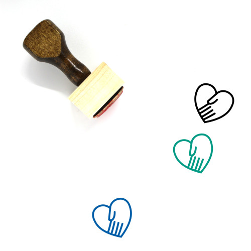 Empathy Wooden Rubber Stamp No. 20
