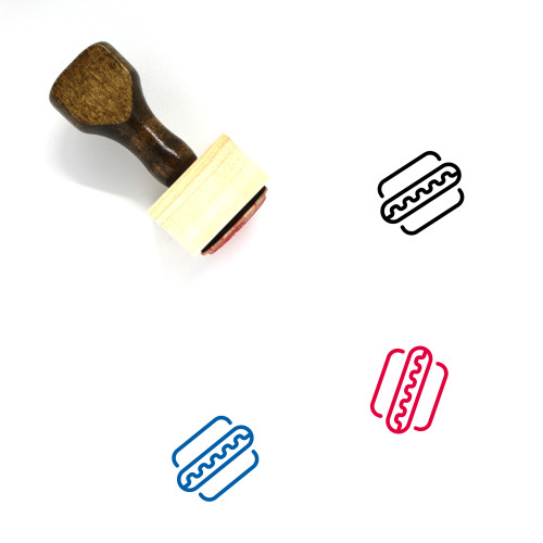 America Wooden Rubber Stamp No. 23