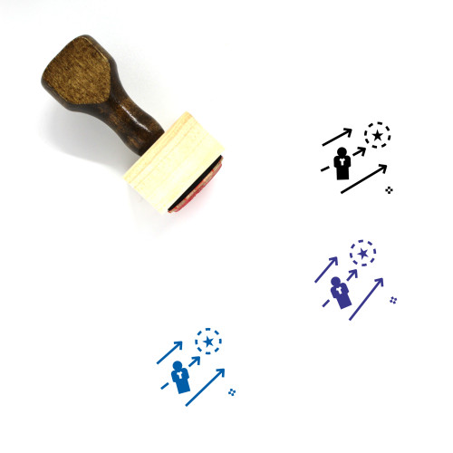 Advance Wooden Rubber Stamp No. 13