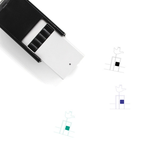 Open Hand Monument Self-Inking Rubber Stamp No. 4