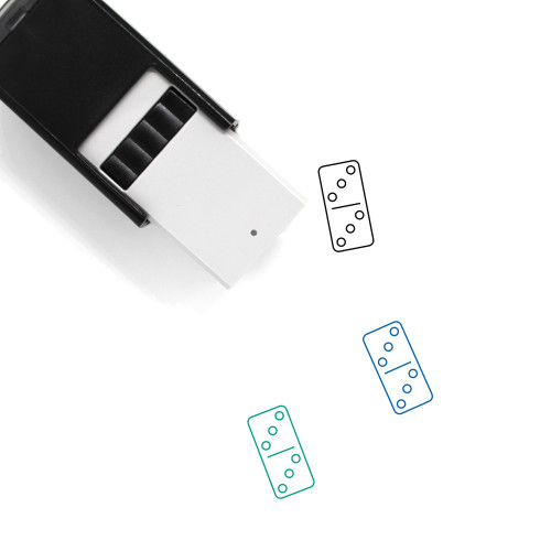 Domino Self-Inking Rubber Stamp No. 131