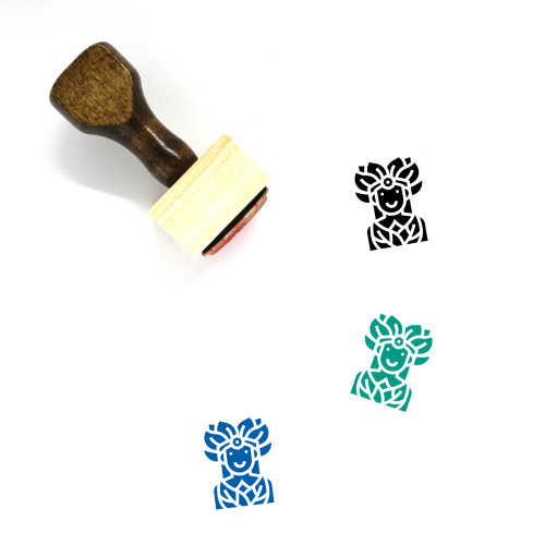 Fairy Wooden Rubber Stamp No. 11