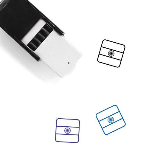 India Self-Inking Rubber Stamp No. 37