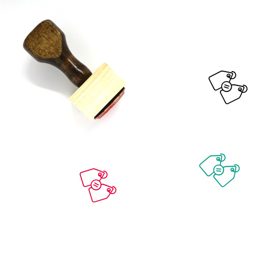 Price Match Wooden Rubber Stamp No. 1