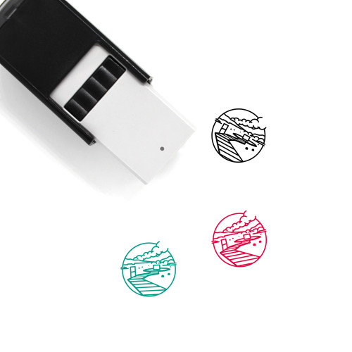 Iceland Self-Inking Rubber Stamp No. 13