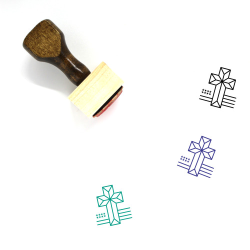 American Wooden Rubber Stamp No. 18