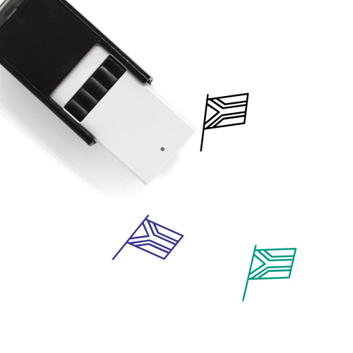 South Africa Self-Inking Rubber Stamp No. 16