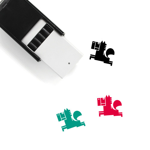 Horse Self-Inking Rubber Stamp No. 45
