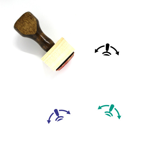 Switch Wooden Rubber Stamp No. 39