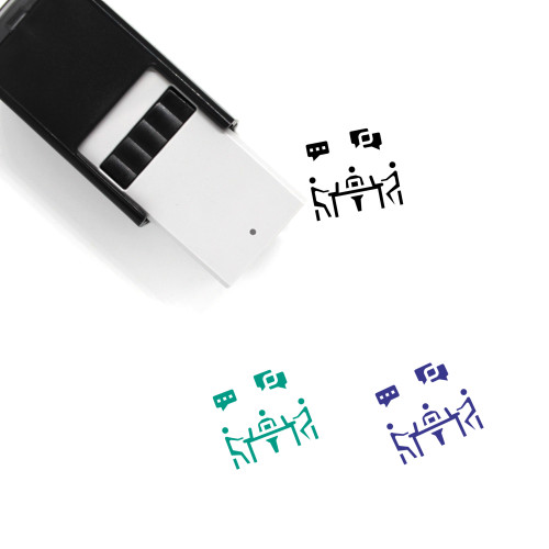 Co Working Space Self-Inking Rubber Stamp No. 1